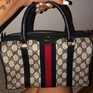 Authentic Vintage Gucci Doctor bag.